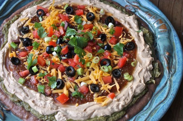 Finger Food Friday — Mexican Layer Dip –
