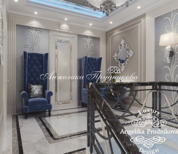 Дизайн-проект интерьера дома в КП «Орловъ» - фото