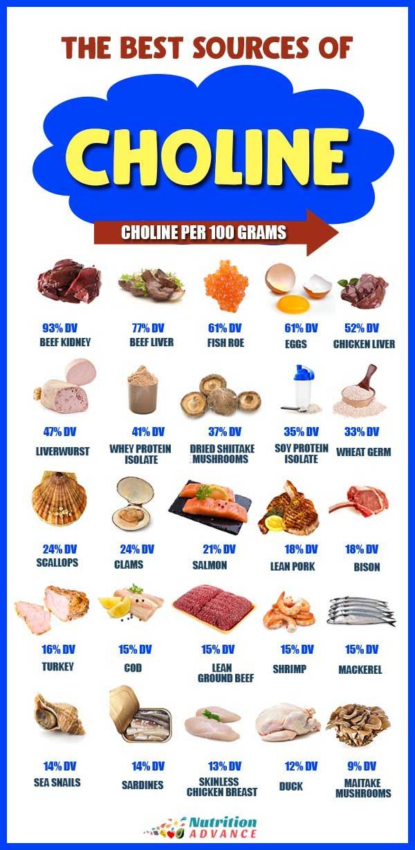 high choline diet plan