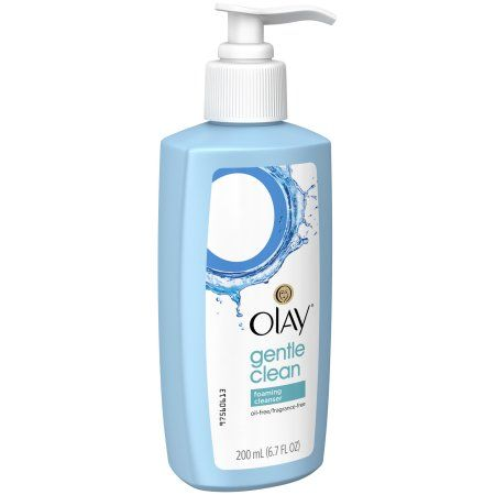 Olay Gentle Clean Foaming Cleanser, 6.7 FL OZ, Multicolor