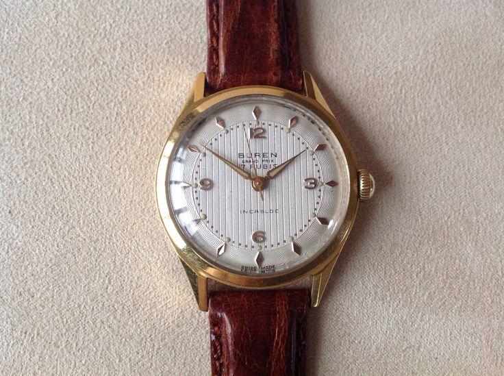 Buren Hand Winding Watch