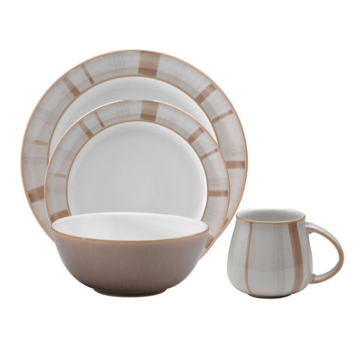 The Truffle Layers 16-piece dinnerware set from Denby features a durable stoneware construction and  sc 1 st  Pinterest & 14 best Denby images on Pinterest | Dinner ware Dinnerware and Ceramica