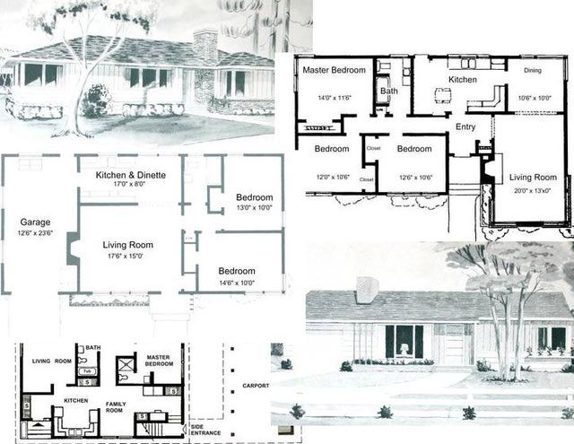 7 Free Floor Plans for Small Houses: Free Small House Plans: For Remodeling or Just Dreaming