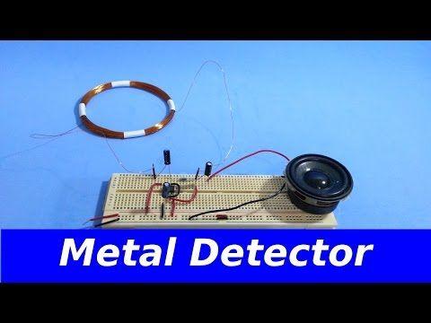 Very powerful yet simple home made metal detector (DIY) - YouTube