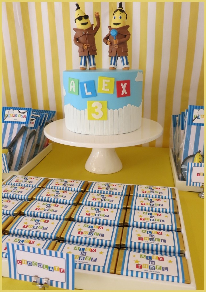 Bananas in Pyjamas Birthday Party