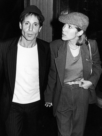 Carrie Fisher & Paul Simon