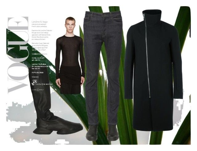 """rick owens 22hjjjjjjjjjjjj"" by oliver-heng on Polyvore featuring Rick Owens, adidas, men's fashion and menswear"