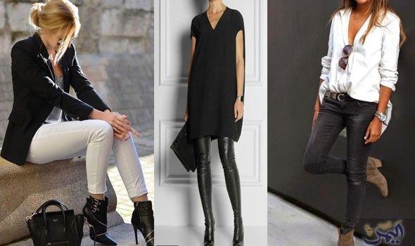 أفكار جديدة لإطلالة مميزة وأنيقة للمرأة العاملة Pantsuit Fashion Suits