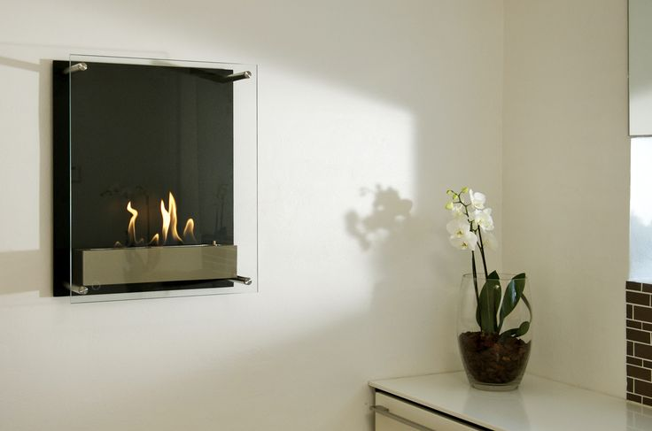 contemporary interior design- a lively corner in your home with decoflame® Atlantic Tower