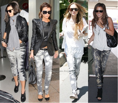 Sxy Fashion Queen: Celebrity Trend: Tie Dye Jeans