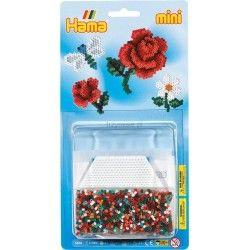 Witajcie we wtorek:)  Zestaw Hama 5506 - Mały Mlister Kwiaty to aż 2000 koralików Hama Mini 2,5 mm dla dzieci od lat 10.   Pozwala na utworzenie projektów ważki, róży oraz kwiatów. Po ułożeniu projekt zaprasowywujemy żelazkiem.  Czy z zestawu mogą korzystać dorośli?  Sprawdźcie sami:)  #hama #koralimi #mini #blister #niczchin #zabawki #krakow