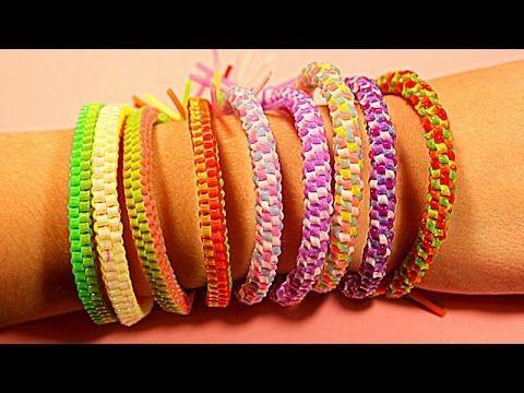 DIY БРАСЛЕТЫ СКУБИ-ДУ из ТРУБОЧЕК своими руками * How to Make Bracelets ...