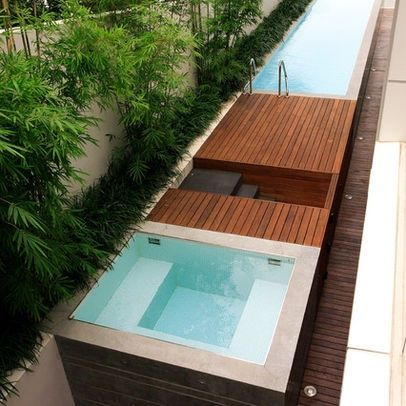 pools for small yards | Pool Designs For Small Yards Design Ideas, Pictures, Remodel, and ...