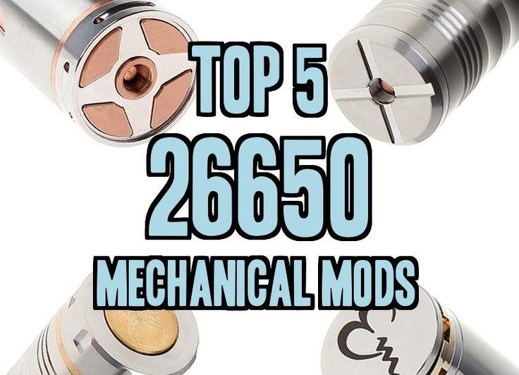 Top 5 26650 Mechanical Mod Clones - http://vapingcheap.com/top-26650-mechanical-mod-clones/