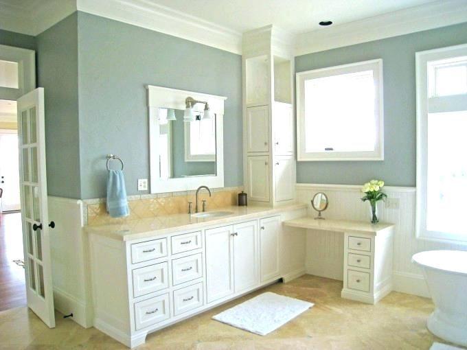 Cream Bathroom Cabinets Cream Bathroom Vanity Vanities Bath The Home Depot Cream Painted Bathro Yellow Bathroom Decor Bathroom Wall Colors Traditional Bathroom