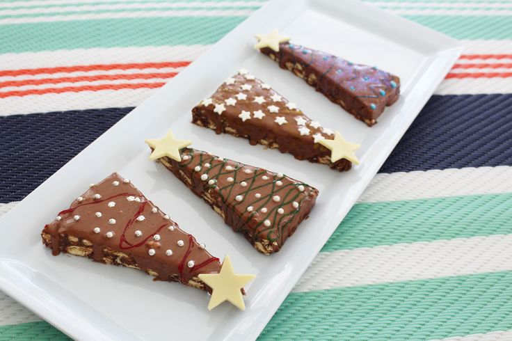 Christmas Tree Hedgehog Slice