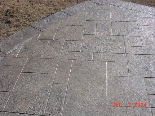 Stamped Concrete Royal Ashlar With Chisseled Stone