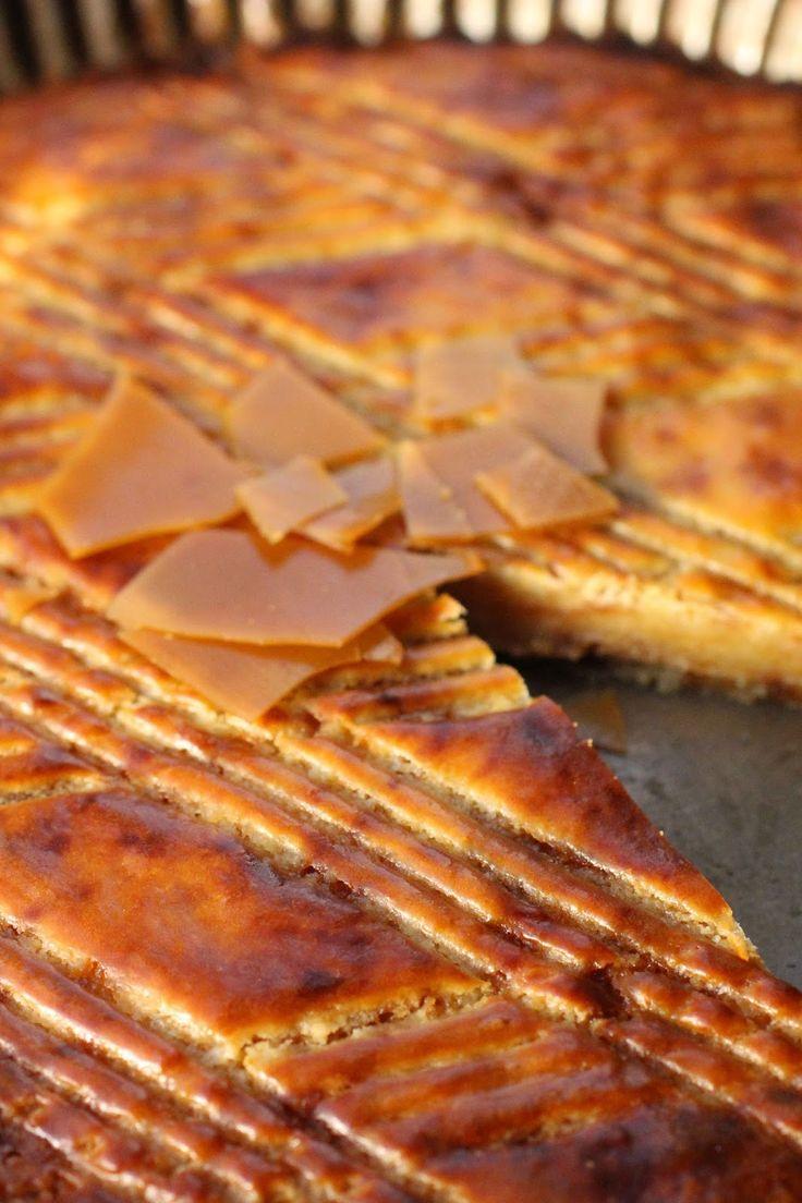 galette des rois bretonne aux pommes et au caramel de beurre salé