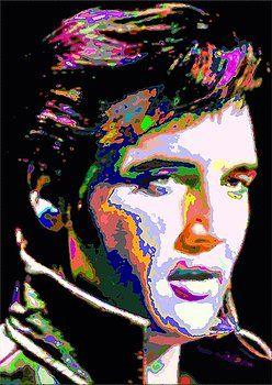 Elvis Presley by Samuel Majcen