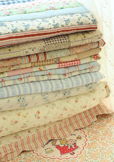 Shabby Chic Quilts.