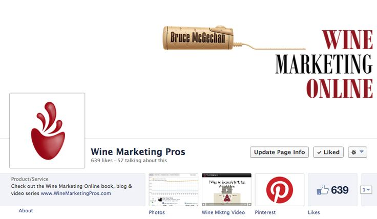 Come and join us on Facebook too! On Facebook we focus a lot on Wine Internet Marketing & specific Facebook strategy #WineMarketing with BruceMcGechan