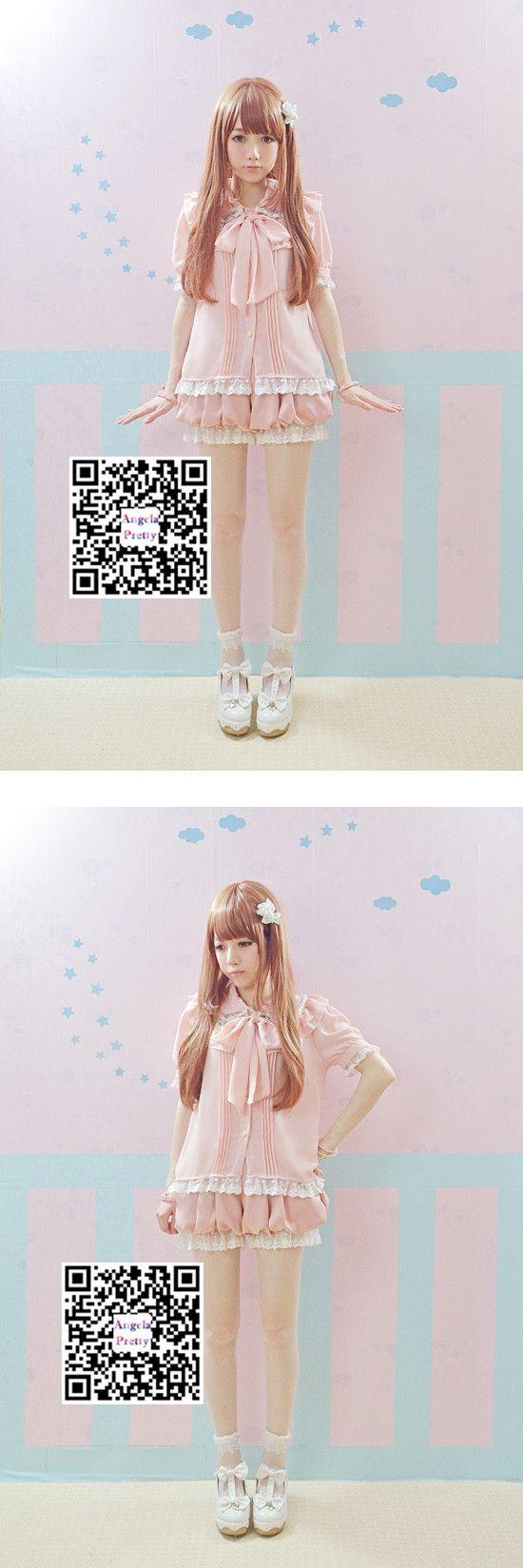 Aliexpress.com: Compre Preto / rosa macacão de verão 2015 babados de renda duplo lanterna Suspender Shorts Lolita Casual geral macacão bonito de confiança beachwear calções fornecedores em PRO-G DEAL