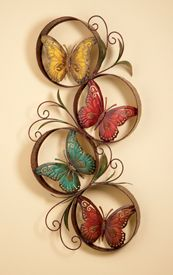 Pure inspiration for quilling-will put photos instead of butterflies  and also some quilled flowers