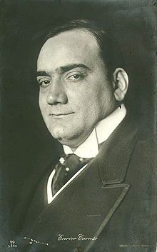 Vintage 1910, Enrico Caruso is the principal tenor for the Metropolitan Opera from 1903 until his death in 1921, NYC, www.RevWill.com