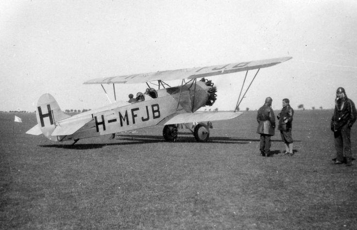 Weiss Manfréd-Fokker C.V.D. típusú repülőgép.