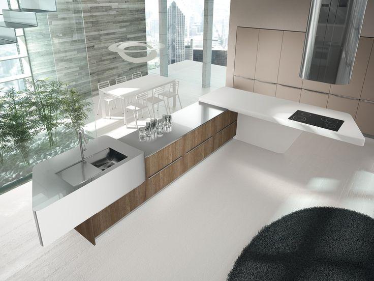 Moderne Küchen, Küche Designs, Küche Ideen, Entwicklung, Zeitgenössischen  Stil, Treppe, Think Tanks, Site Down, Home Decorating