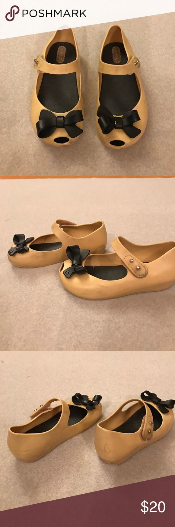 Mini Melissa Jelly Shoes for girls Very good condition but has some stains. Please see pics. Mini Melissa Shoes