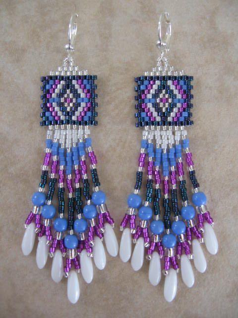 free seed bead earring patterns