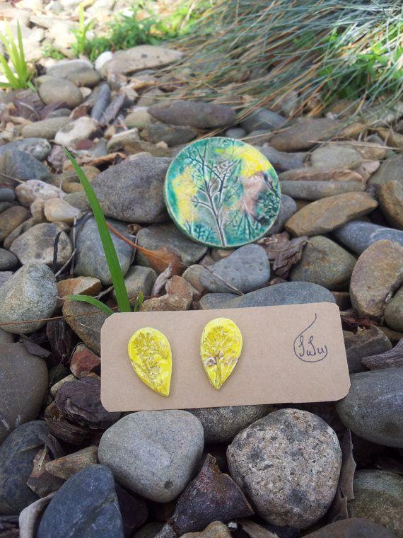 Leaf Brooch by SaSuDesigns on Etsy, $40.00
