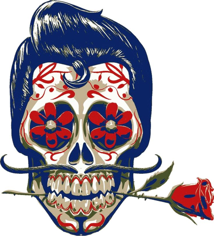 Mexican Skull 2 wear by ~Gilvany-Oliveira on deviantART