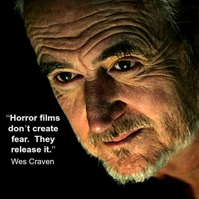 Film Director quote - Wes Craven - Movie Director Quote - #wescraven reidrosefelt.com
