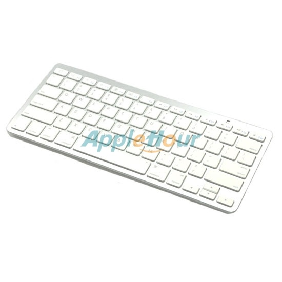 Bluetooth Wireless Keyboard for iPhone/iPad/Mac/MacBook-White (LY-808)  $31.17  www.mnrsoft.com