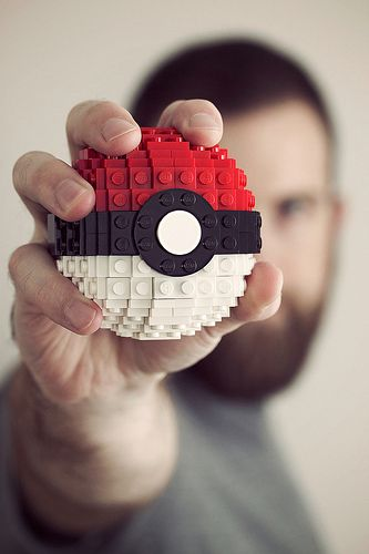 pokeball: Gotta Catch, Birthday Presents, Pokemon, Pokémon, Videos Games, Brick, Lego Pokeb, Lego Creations, Games Design