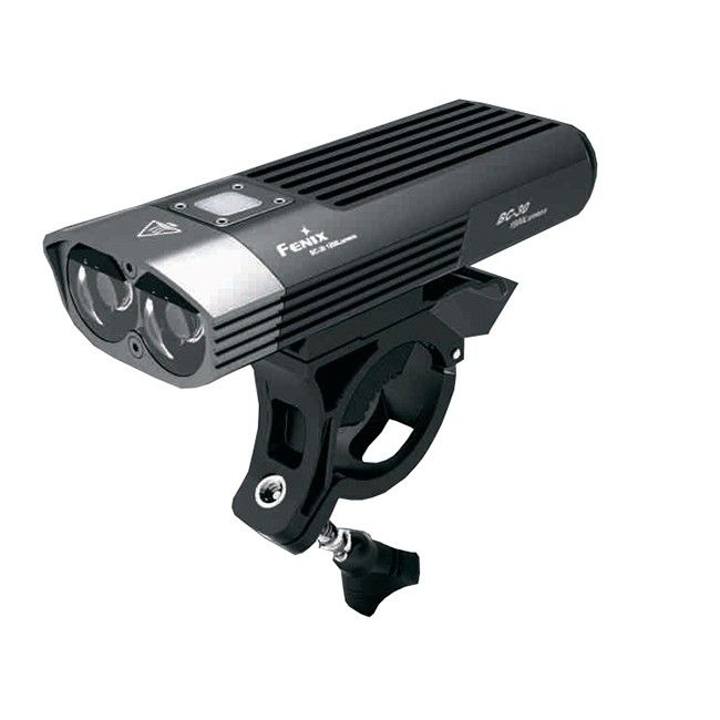 This Bike light has a max out put of 1200 lumens, and a burst mode of 1800 lumens. All you'll need to light up your advneture For some reason this this Bike light reminds me of ET the extra terrestrial. And while it might not be capable of making your bike fly, it will definitely light up your journey, with a 1200 lumens max output and a burst mode of a whopping 1800 lumens, activated via the handlebars-mounted remote switch: http://ledpowerhouse.com/fenix-bc30-led-bike-light.html