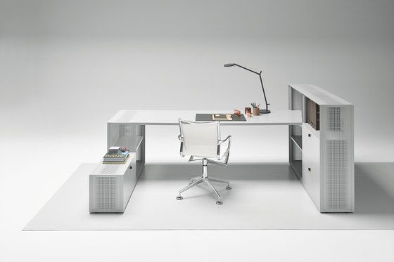 Mesh Office Work-place by Piure | Individual desks