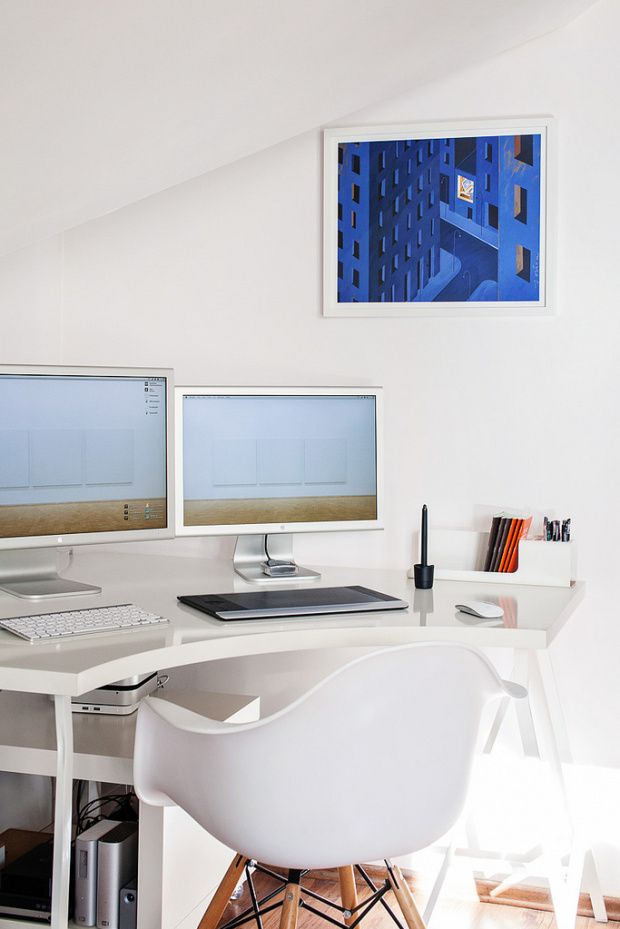 tumblr n0dnuhVlEn1rqeb09o1 1280 620x929 70 Inspirational Workspaces & Offices   Part 21