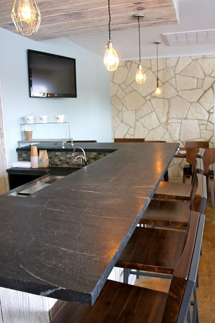Dorado Soapstone Installed Around Town   Kitchen Countertops   Austin    Dorado Stone Distributors