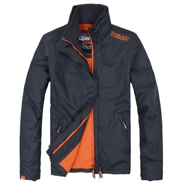 Grey Super Dry Jacket! I have this jacket in black and I get compliments on it all the time plus it's actually a warm jeccket to be honest!