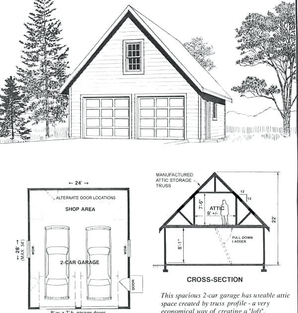 Best Representation Descriptions 2 Car Garage Plans With Attic Trusses Related Searches 24x30 Wood Bui Garage House Plans Garage Plans Garage Building Plans