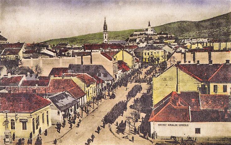 Nitra, Hlavná ulica, 1923