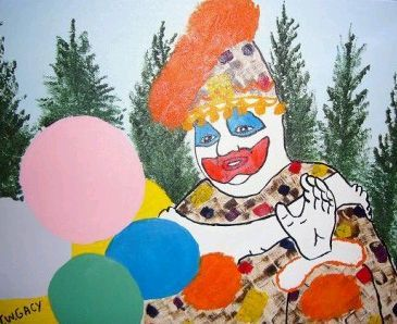 John Wayne Gacy, scary clown. The lethal injection was botched with a clogged IV tube. It took 18 minutes.