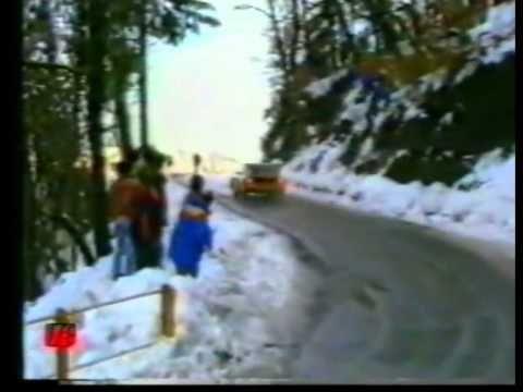Ricordo di Henri Toivonen e Sergio Cresto - Rally Montecarlo 1986
