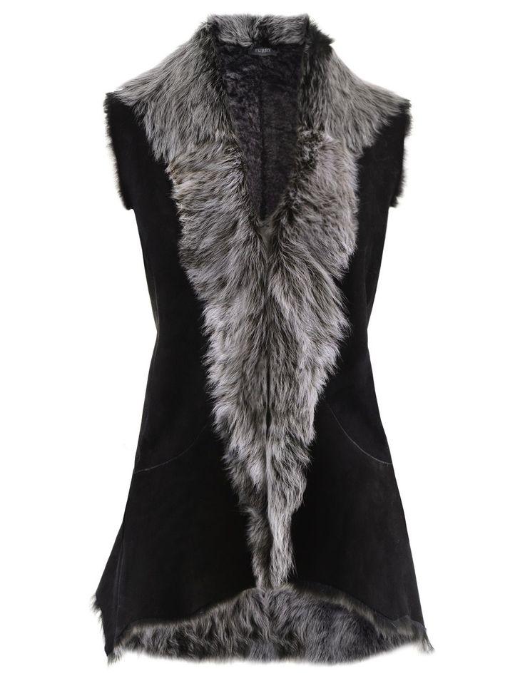 Lamb Black Vest