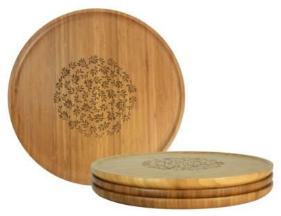 An understated yet elegant piece of art to adorn your kitchen and entertain your guests, Dandi's Bamboo Large Platter is moulded perfectly for any serving need—a level surface from the centre with a gentle curve at the sides for easy handling. The smooth matte finish provides better grip on top of a classic, natural look and feel for you and your guests to admire.