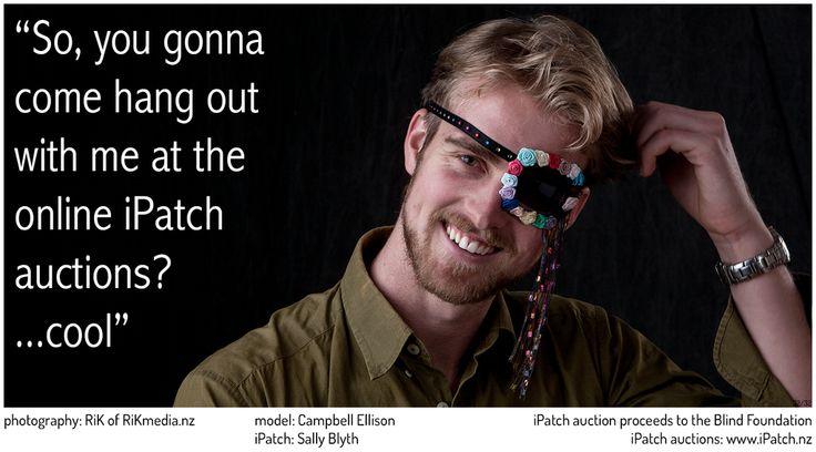 #iPatch #StyleMeNZ #BlindFoundation