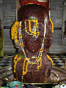 "NEPAL PASHUPATHI - Priests say the idol of Mrigeshwar Mahadev carries the meaning of Pashupati. ""Pashupati actually means the incarnation of lord Mahadev as an animal,"" said Adhikari. ""The idol of Mrigeshwar Mahadev is the only idol which depicts Mahadev's incarnation as mirga (deer)."""